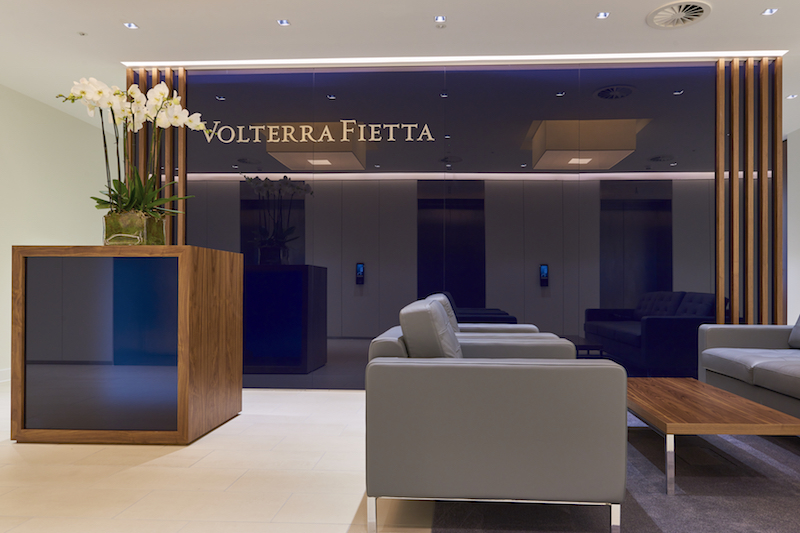 LONDON, UK. JUNE 10, 2016: Volterra Fietta's new office re-shoot.
